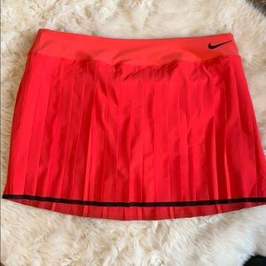 Nike dri fit pleated tennis skirt XL